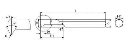 複合式自動車床 (內孔牙刀)