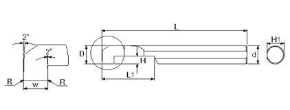 複合式自動車床 (內孔槽刀)