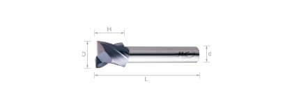 複合式自動車床 (短刃型) -2刃