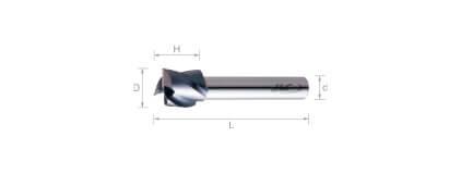 複合式自動車床 (短刃型) -3刃