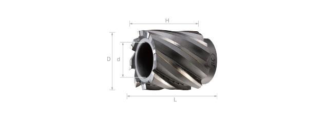 焊刃鎢鋼筒狀銑刀