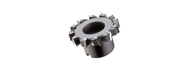 焊刃鎢鋼T型平面銑刀 (千鳥刃)