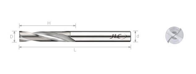 鎢鋼平底高速鑽頭