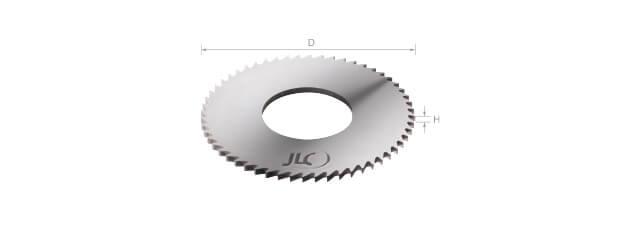 鎢鋼小徑鋸片 (細齒數)