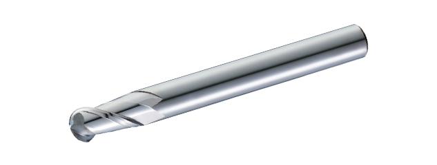 Carbide Ball Nose Aluminum End Mills ( Long Shank ) - 2 Flutes